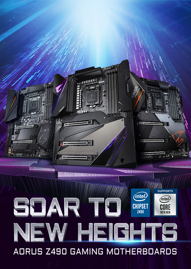 [ AU ] Z490 Soar to new heights