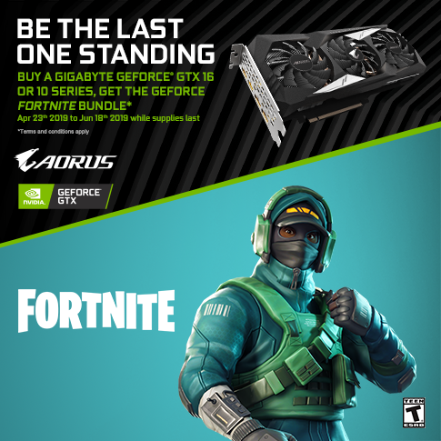 Buy A Qualified GIGABYTE GTX AND GET FORTNITE BUNDLE_APAC