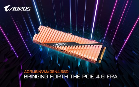 GIGABYTE Releases The AORUS NVMe Gen4 SSD Bringing Forth The PCIe 4.0 Era